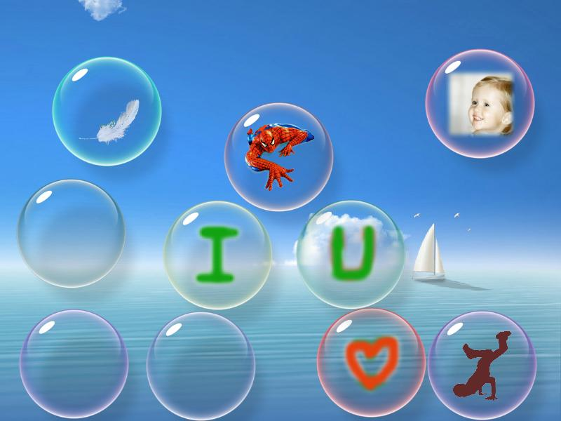 Screenshot for flow Bubbles screensaver 3.30